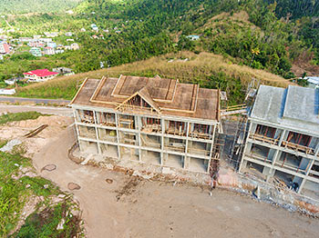 March 11, 2019 Anichi Resort Construction Site: Building 10