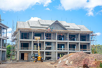 March 11, 2019 Anichi Resort Construction Site: Building 8