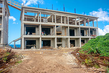 March 11, 2019 Anichi Resort Construction Site: Building 6