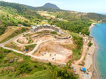 April 27, 2019 Anichi Resort Construction Site: Aerial View to the East-South