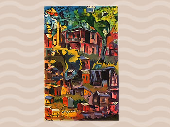 Dominica Arts and Crafts Exhibition on May 10, 2019: Aaron Hamilton
