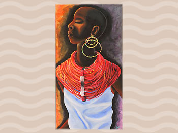 Dominica Arts and Crafts Exhibition on May 10, 2019: Roots by Chase Lawrence