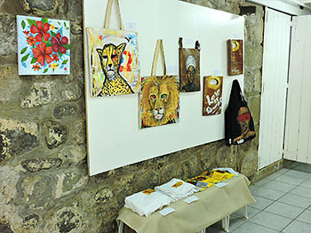 Dominica Arts and Crafts Exhibition on May 10, 2019: Alexander Boyce