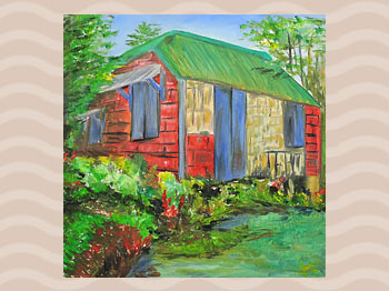 Dominica Arts and Crafts Exhibition on May 10, 2019: New House by Chase Lawrence
