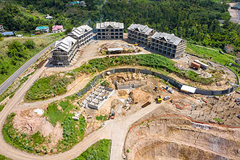 June 21, 2019 Caribbean Resort Construction Update: Buildings 6, 7, 8, 9 and 10
