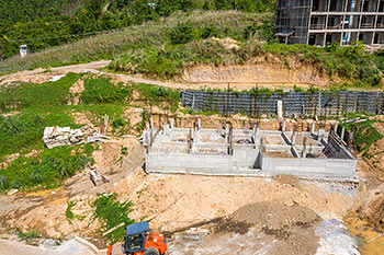 June 21, 2019 Caribbean Resort Construction Update: Building 1 Construction Progress