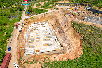June 21, 2019 Caribbean Resort Construction Update: Aerial View of Building D