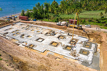 June 21, 2019 Caribbean Resort Construction Update: Building D Construction Progress