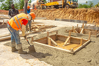 June 21, 2019 Caribbean Resort Construction Update: Casting for the Building D