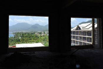 June 21, 2019 Caribbean Resort Construction Update: View to the North from Building 8