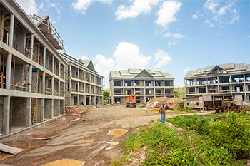 Dominica Resort Construction Update on June 4th, 2019: Buildings 10, 9, 8 and 7