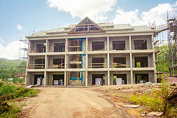 Dominica Resort Construction Update on June 4th, 2019: Building 10