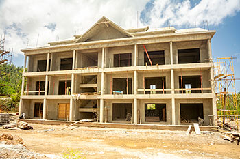 Dominica Resort Construction Update on June 4th, 2019: Building 8