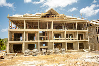 Dominica Resort Construction Update on June 4th, 2019: Building 7
