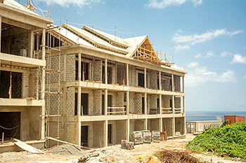 Dominica Resort Construction Update on June 4th, 2019: Building 6
