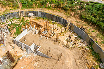 Dominica Resort Construction Update on June 5th, 2019: Building 2 (Guestrooms)
