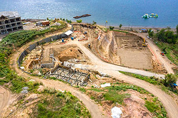 Dominica Resort Construction Update on June 5th, 2019: Buildings 1-3 and D (Engineering Block and BOH