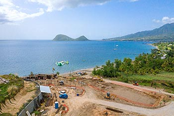 Dominica Resort Construction Update on June 5th, 2019: North View