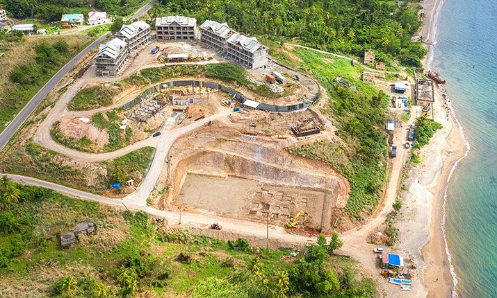 Dominica Resort Construction Update: June 4-5, 2019