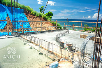 October 21, 2019 Construction Update: At the Construction Site of the Anichi Resort & Spa