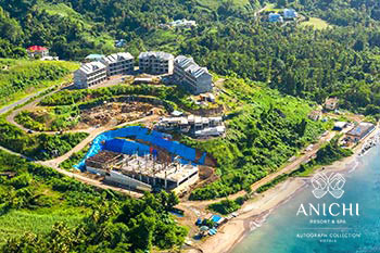 November 28, 2019 Construction Update: Construction Site of the Anichi Resort & Spa