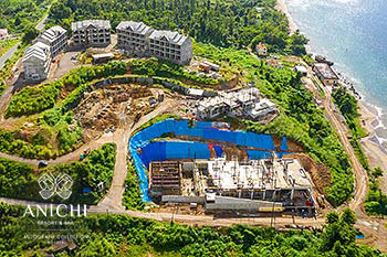 November 28, 2019 Construction Update: Aerial View of the Anichi Resort & Spa