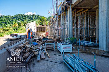November 28, 2019 Construction Update: First Floor of the Building D