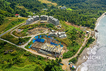 January 24, 2020 Construction Update: Aerial View of the Anichi Resort & Spa