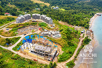February 14, 2020 Construction Update: Construction Site of the Anichi Resort & Spa