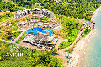 March 23, 2020 Construction Update: Aerial View of the Anichi Resort & Spa