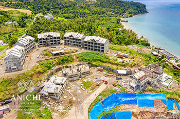 March 23, 2020 Construction Update: Construction Site of the Anichi Resort & Spa