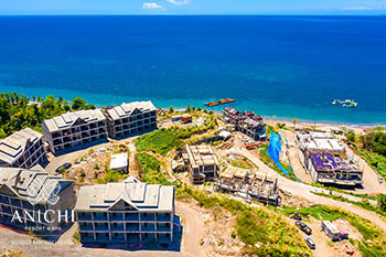 April 22, 2020 Construction Update: View to the Caribbean Sea