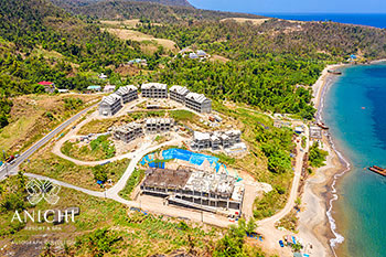 May 22, 2020 Construction Update: Aerial View of Anichi Resort & Spa