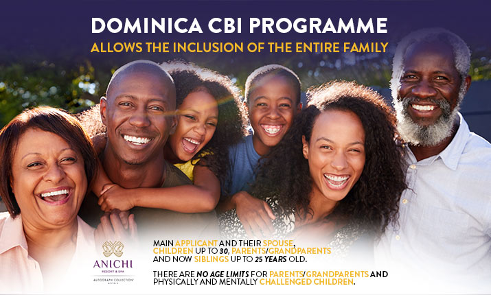 Dominica Becomes Most Family Friendly CBI Programme in the World