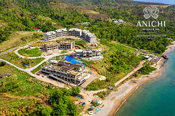 July 03, 2020 Construction Update: Aerial View of Anichi Resort & Spa