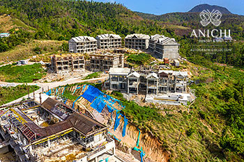 July 03, 2020 Construction Update: Construction Site of Anichi Resort & Spa
