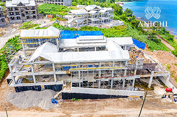 September 23, 2020 Construction Update: Aerial View of Building D