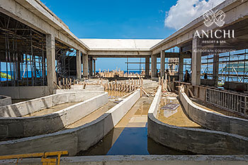 September 23, 2020 Construction Update: 3rd Floor of Building D with view to the Caribbean Sea