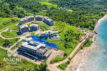October 20, 2020 Construction Update: Aerial View of Anichi Resort & Spa