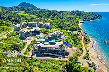 October 20, 2020 Construction Update: Aerial View of the Dominica Resort
