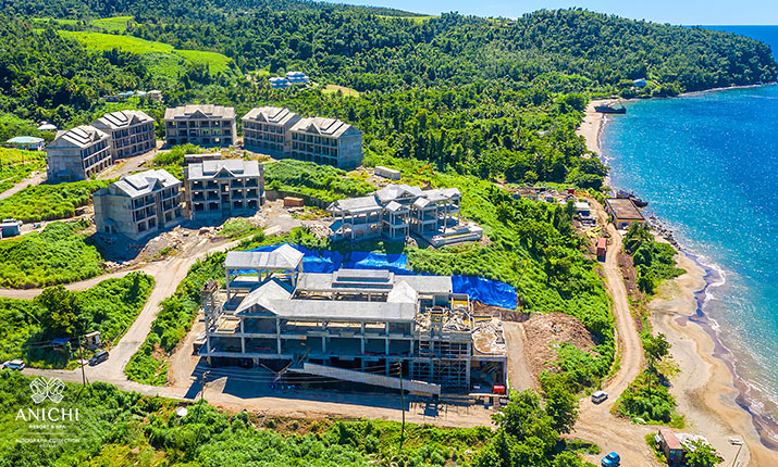 October 20, 2020 Construction Update - Anichi Resort & Spa