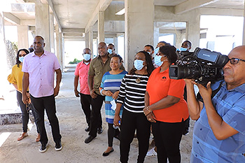 Prime Minister of Dominica, Roosevelt Skerrit, and his Cabinet