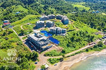 November 26, 2020 Construction Update: Aerial View of Anichi Resort & Spa