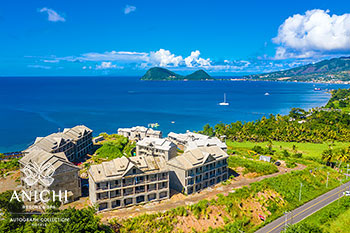 November 26, 2020 Construction Update: Aerial View of the Dominica Resort
