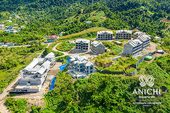 December 2020 Construction Update: Aerial View of the Caribbean Resort