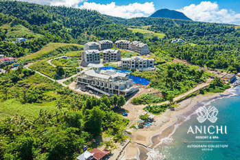 December 2020 Construction Update: Aerial View of the Dominica Resort