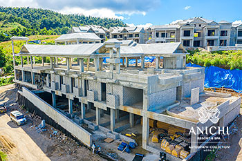 December 2020 Construction Update: Aerial View of Building D