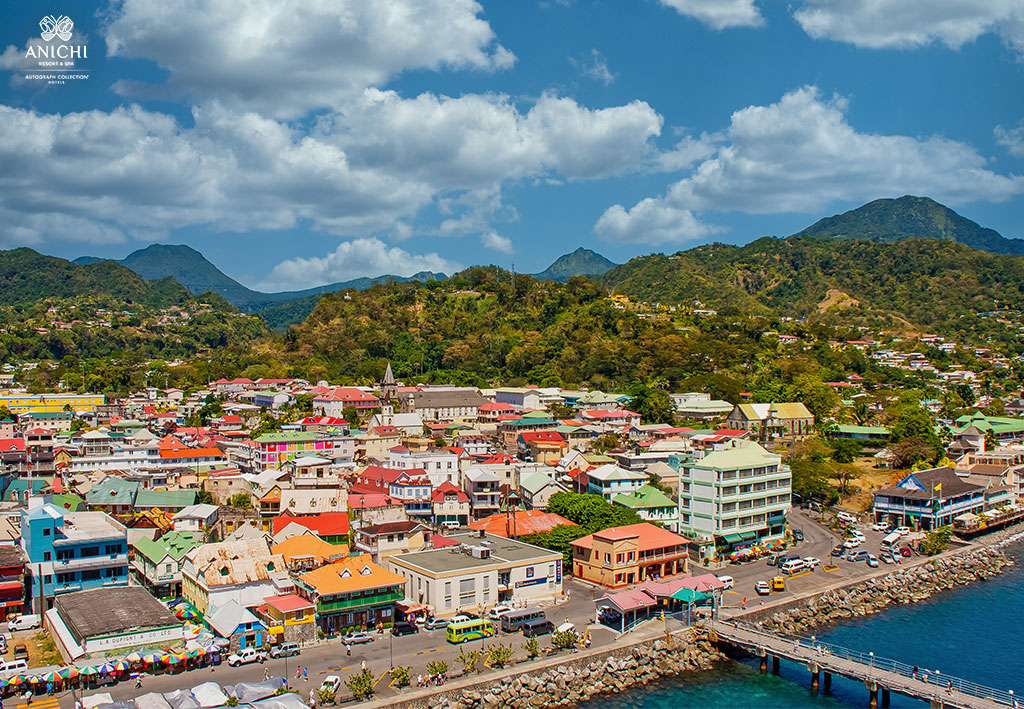 The capital of Dominica, Roseau