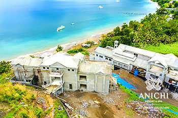 January 2021 Construction Update of Anichi Resort & Spa: North View of Building 3