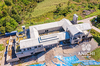 March 2021 Construction Update of Anichi Resort & Spa: North View of Building D